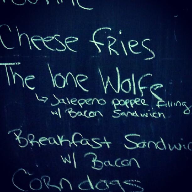 Lone Wolfe Sandwich